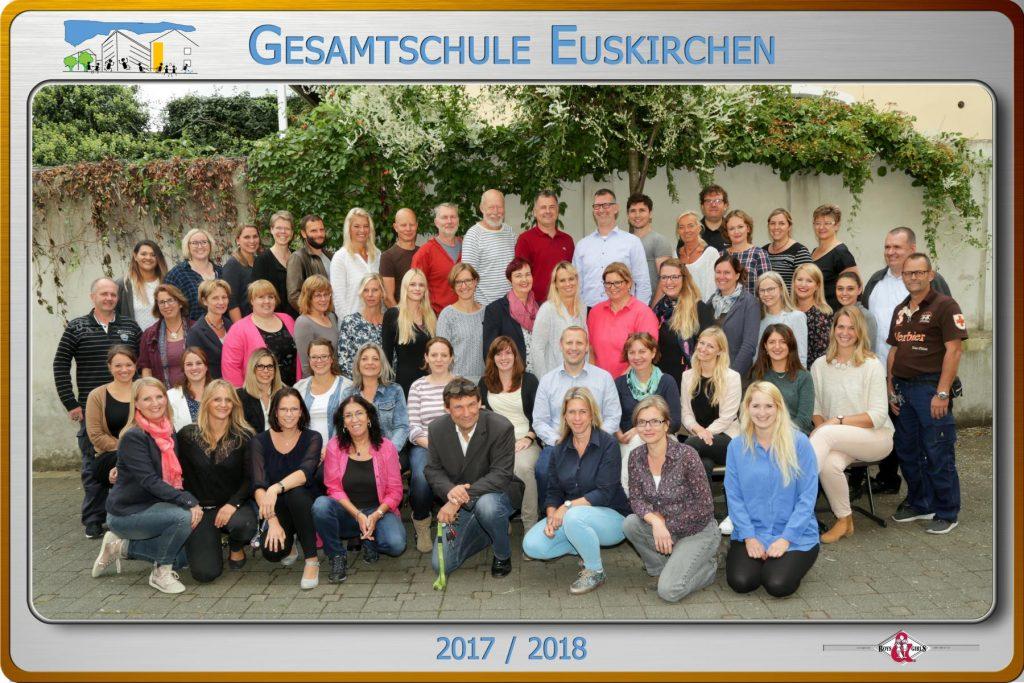 Kollegium Gesamtschule 2017/18
