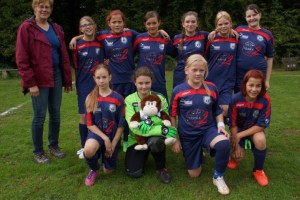Mannschaft Mädchenturnier