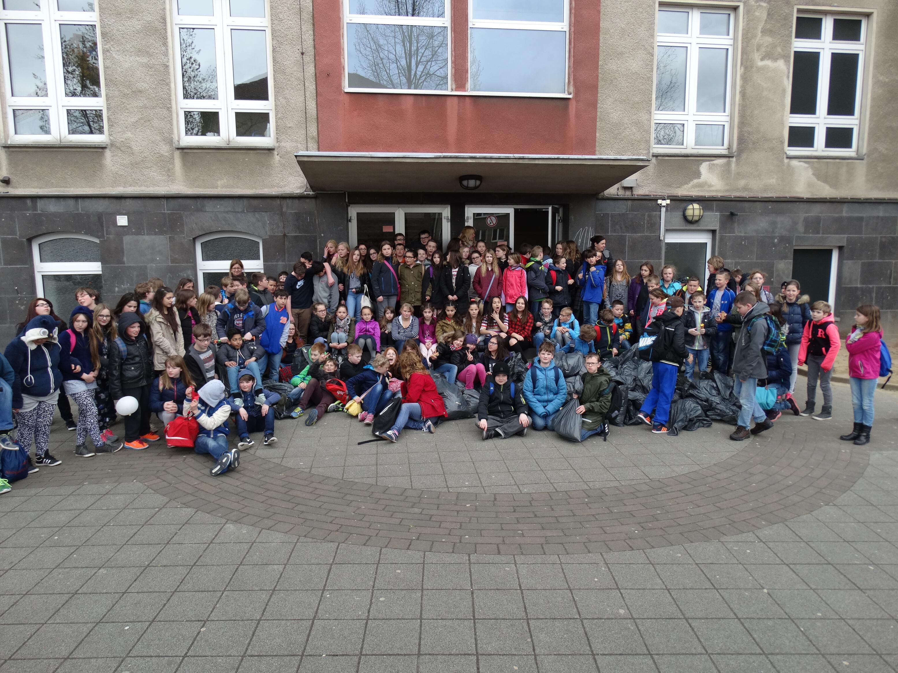 Reinigungsaktion in Euskirchen